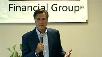 Romney Visits Business Leaders, Voters