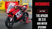Lap Ride: Race-spec TVS Apache RR 310