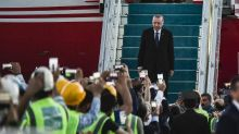 Erdogan showcases new Istanbul airport ahead of elections