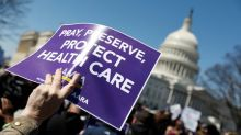 Trump fights for support ahead of U.S. healthcare vote