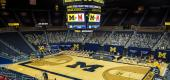 The Crisler Center at the University of Michigan. (Getty Images)