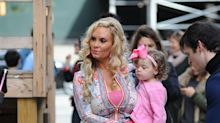 Coco Austin hired a guy to vacuum the street where she walked