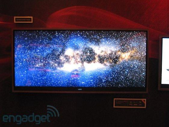 Vizio CES hands-on with ultrawidescreen TV, passive 3DTV, OnLive and Android clock radios