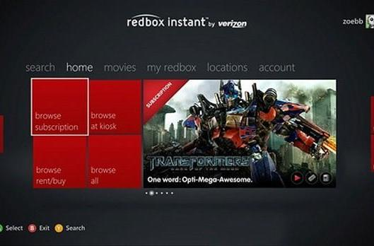 Redbox Instant app for Xbox 360 goes live for Gold subscribers