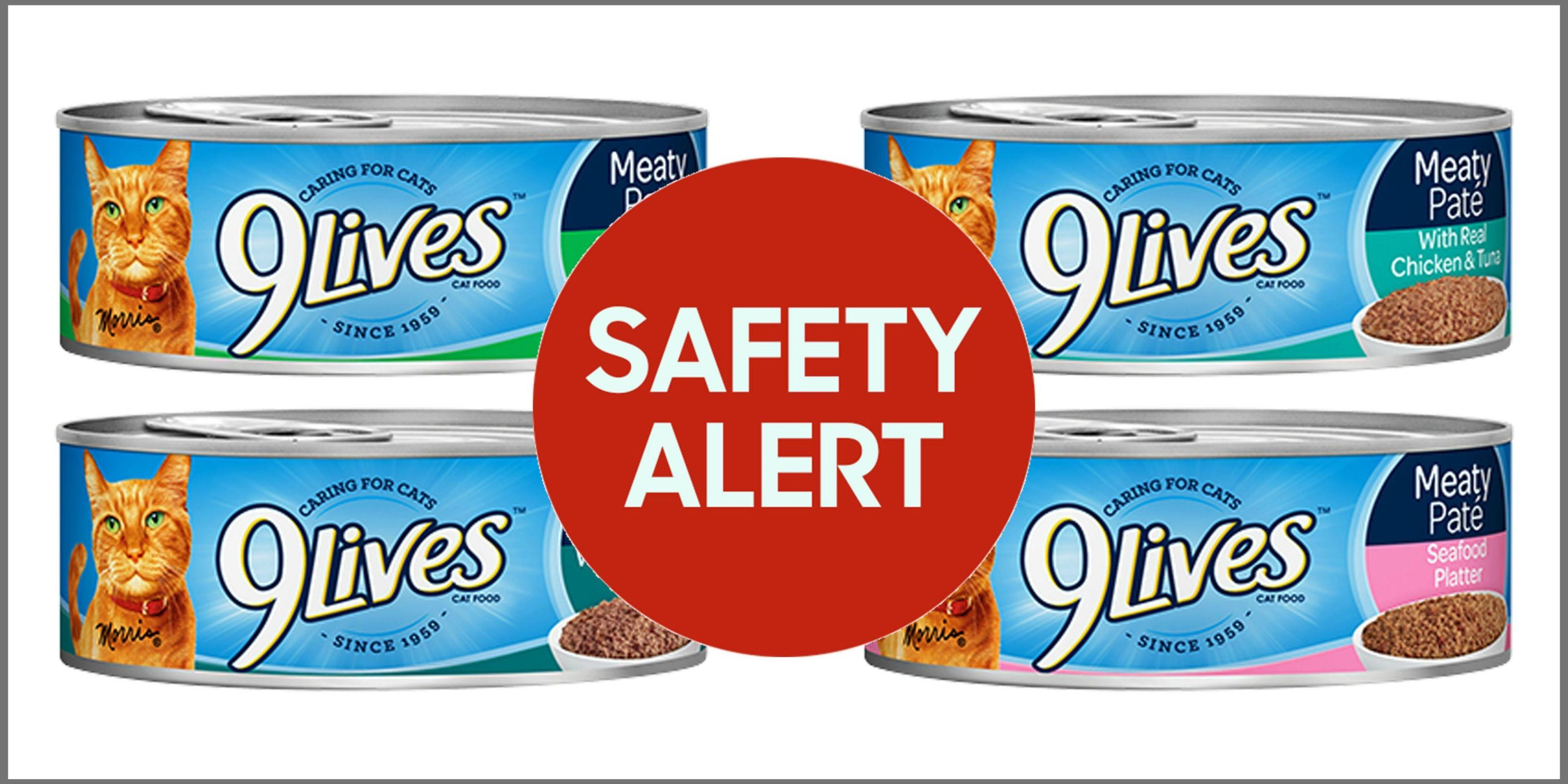 9lives Cat Food And Two Other Brands Recalled Due To