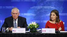 U.S.-led meeting urges North Korea pressure despite North-South detente