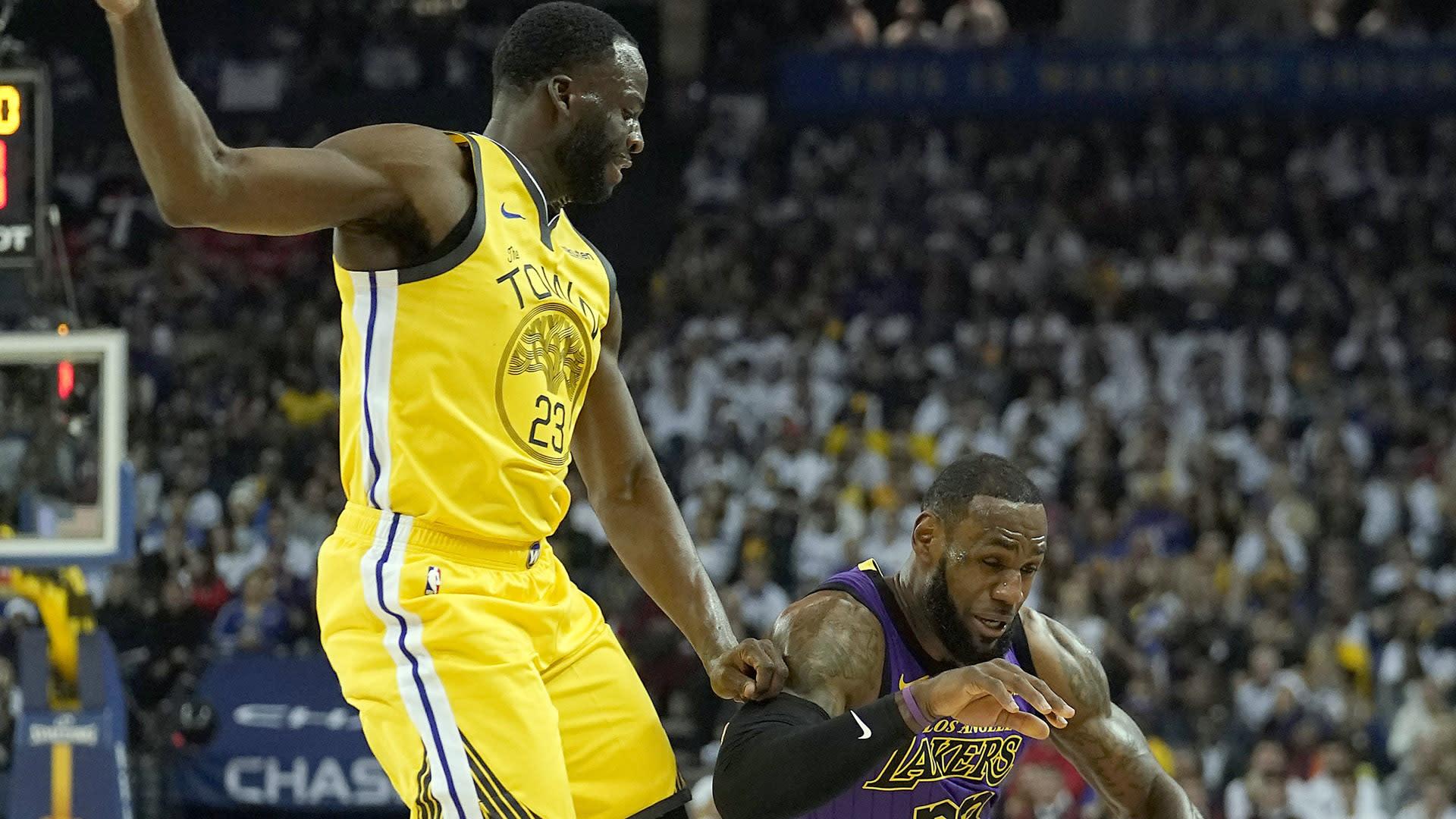 Draymond Green calls not playing LeBron James in NBA playoffs a 'mindf--k'