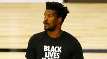 NBA wouldn't let Jimmy Butler wear a no-name jersey, had to change before game