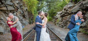 Wedding photo captures 2 generations of long-lasting love