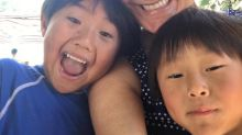 Kids Love Their Mom's Belly in a Bikini, Much to Her Surprise