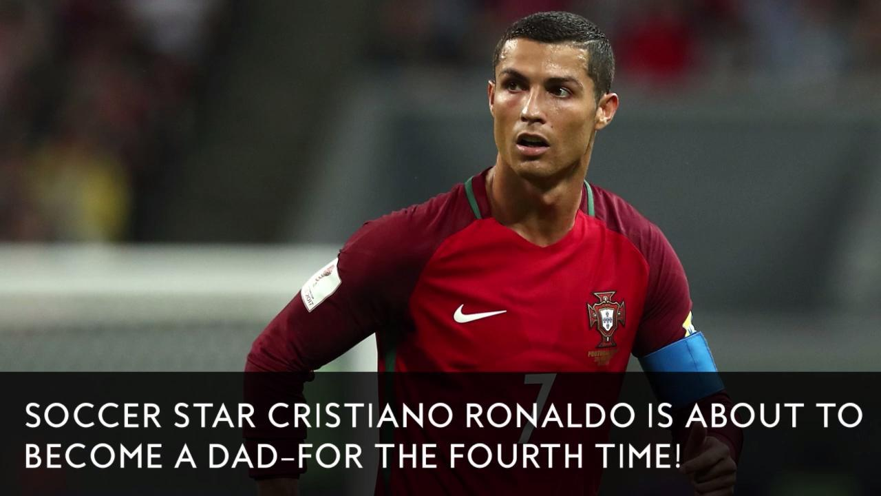 Cristiano Ronaldo And His Girlfriend Are Expecting A Baby