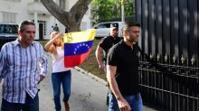Caracas says Spain envoy helped Venezuela opposition leader flee