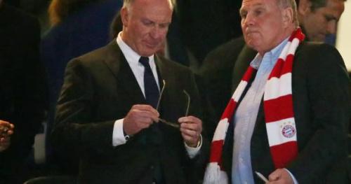 Foot - C1 - Bayern - Karl-Heinz Rummenigge (président du Bayern) : «Le carton rouge de Vidal nous a tués»