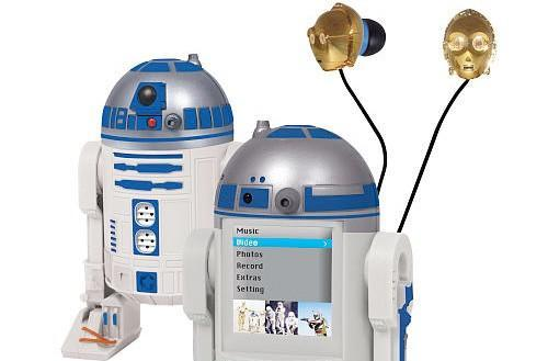 The droid nobody was looking for: an R2-D2 MP4 player