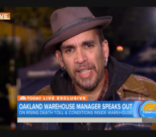 Oakland warehouse operator distraught in interview about deadly fire