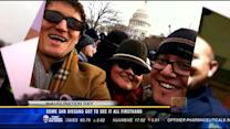 San Diegans who got to see inauguration firsthand