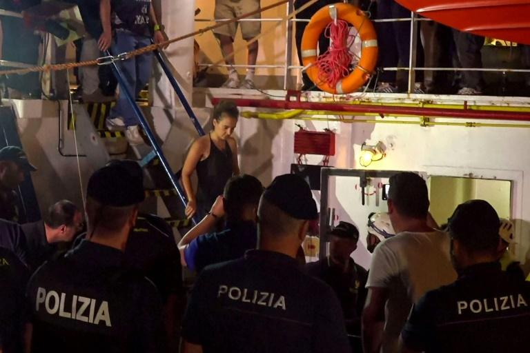 Italy Arrests Captain of Charity Vessel Carrying Migrants