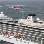Stranded Norway cruise ship MV Viking Sky returning to port after air evacuations; nearly 900 aboard
