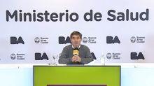 """Coronavirus: en un día de apertura de nuevas actividades, Fernán Quirós dijo que la Ciudad mantiene """"una leve, pero sostenida disminución de casos diarios"""""""