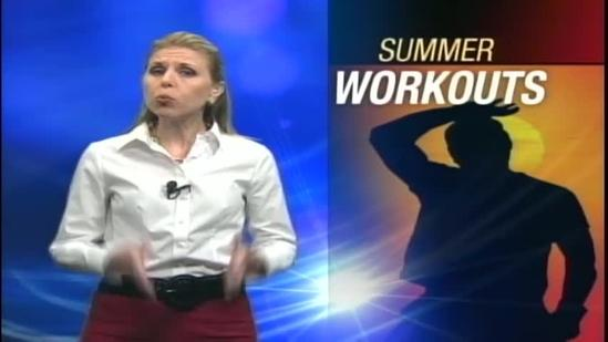 Summer exercise for a healthy heart