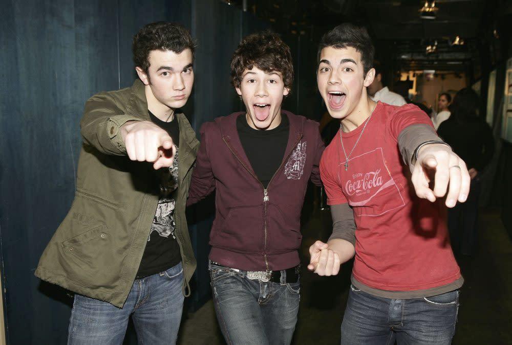 They're teen movie stars that wear purity rings JONAS.