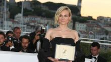 Diane Kruger bet that her film wouldn't get into Cannes, and now she has to get a tattoo