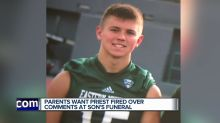 Grieving parents say priest called their son 'a sinner' at his funeral