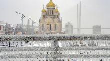 ¿Qué es la lluvia helada o engelante que ha congelado una ciudad entera en Rusia?
