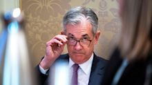 Stocks fall in wake of Powell speech