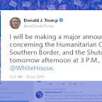 Trump's government shutdown announcement: Sign of progress or political posturing?