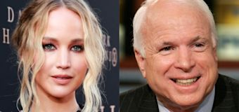 Jennifer Lawrence reveals she voted for John McCain in 2008 US election: 'I was a little Republican'