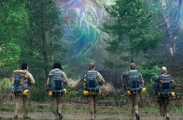 Watching 'Annihilation' at home versus the cinema