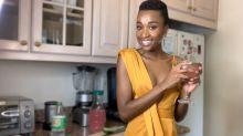 Put Down Your Basic Seltzer and Try Miss Universe Zozibini Tunzi's Super Fresh Pink Lemonade Mocktail