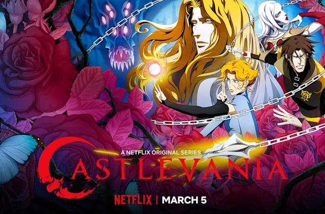 What's on TV this week: 'Castlevania' and Pixar movies in 4K