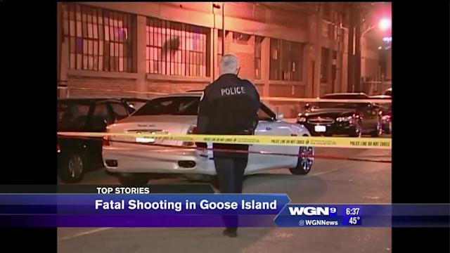 Man shot, killed in Goose Island after car accident