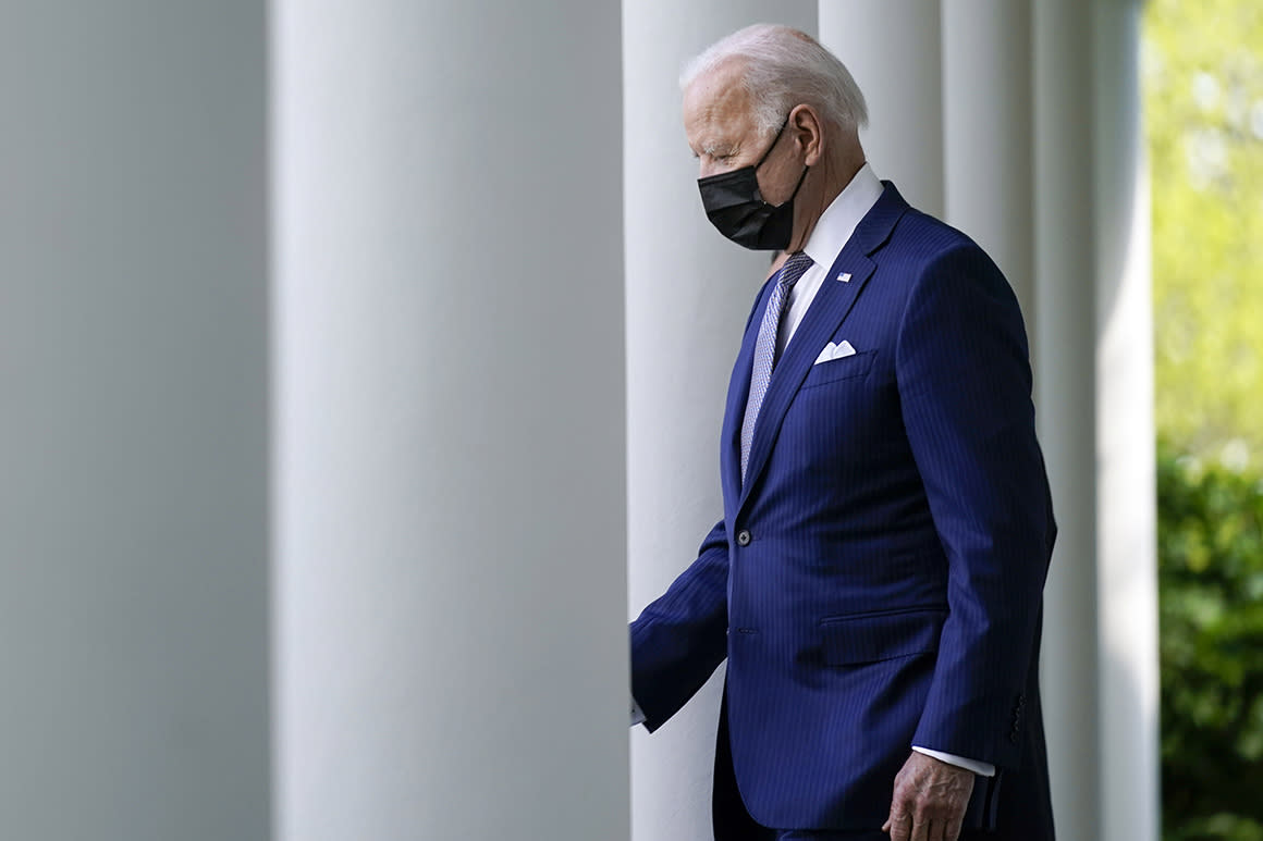 Some Democrats rip Biden for refugee cap