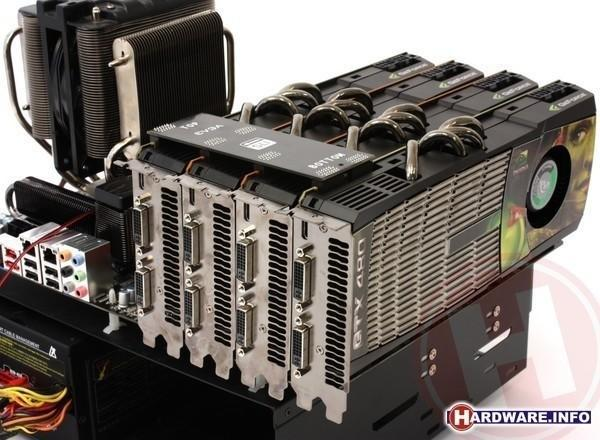 NVIDIA GeForce GTX 480 4-way SLI exemplifies law of diminishing returns