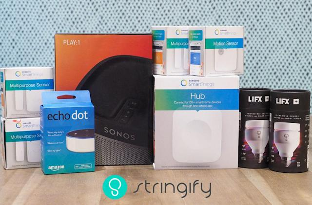 Engadget giveaway: Win a smart home package courtesy of Stringify!