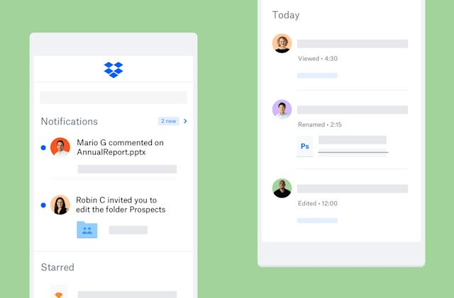Dropbox's mobile apps make it easier to find, track and share your files