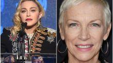 'Dangerous quackery': Annie Lennox criticises Madonna for sharing coronavirus conspiracy theory