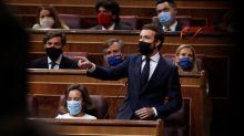 Casado pide a Sánchez pronunciarse ante el ataque de Iglesias a la monarquía