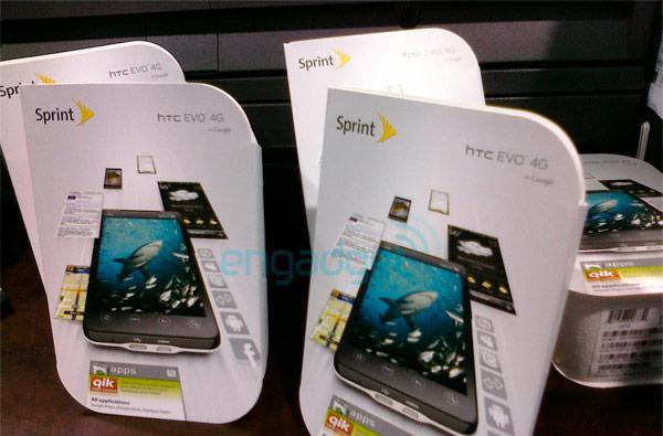 White HTC EVO 4G lands early in Best Buy stores (update: unboxing!)