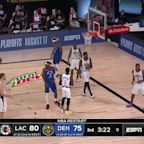 Jamal Murray with an Assist vs. LA Clippers