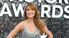 Jane Seymour, 68, Shows Off DWTS Move in Slinky Sequin Dress at the SAG Awards