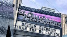 Vancouver Strip Club The Penthouse Can't Resist A Dig At U.S. Capitol Security