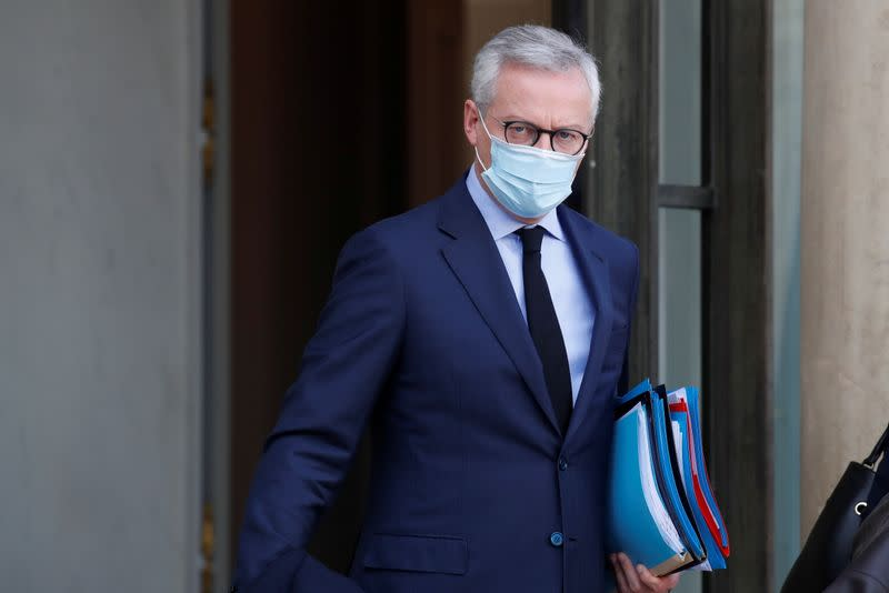 French economy will contract in fourth-quarter, rebound seen in 2021 - Le Maire