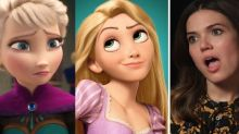 Mandy Moore dismisses Frozen-Tangled fan theory linking Disney films as 'morbid'