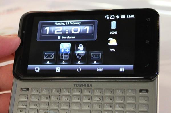 Toshiba K01 hands-on