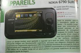 Rogers signs up for the Nokia Surge?