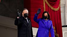 """Sorpresa mayúscula con lo que ha hecho el marido de Kamala Harris: """"También es histórico"""""""
